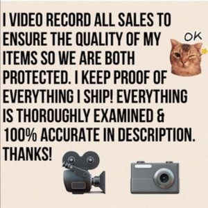 Other - Video record all sales ! 🎥